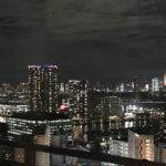 豊洲のタワーマンションからの眺め